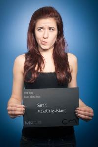 Sarah - MakeUp Assistant